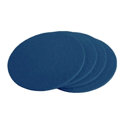 Blue Wool Felt Designer Coaster
