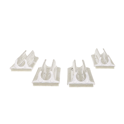 "6010W - 3/8"" tube sled base white"