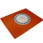 8202 - mango orange placemat