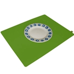 8204 - apple green placemat
