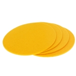 8306 - lemon yellow coasters
