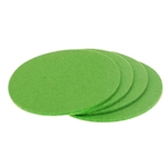 8307 - apple green coasters