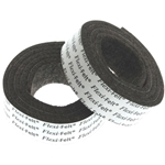 "D5005 - 1"" x 36"" dark brown felt pads"