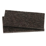 "D5007 - 15/16"" square dark brown felt pads"