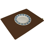 Brown Wool Felt Designer Placemat