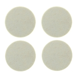 "5015 - Four 4"" Industrial Strength Adhesive Felt Disks"