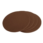 Brown Wool Felt Designer Coaster
